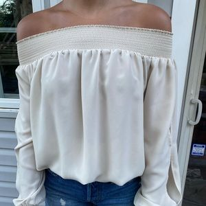 Philosophy off the shoulder blouse